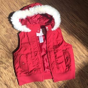 Gymboree puffer best with hoodie